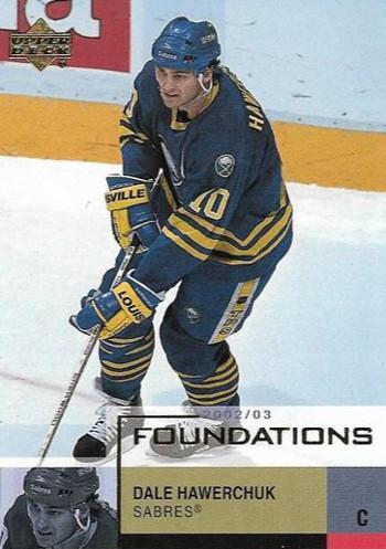 Dale Hawerchuk - Buffalo Sabres - UD Foundations - Sportovní sbírky