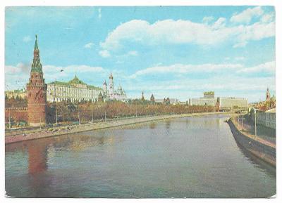 1 RUSKO - MOSKVA - KREMELSKÉ NÁBŘEŽÍ