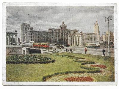 1 RUSKO - MOSKVA - DOROGOMILOVSKÉ NÁBŘEŽÍ  1960