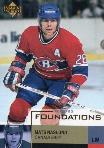 Mats Näslund - Montreal Canadiens - UD Foundations