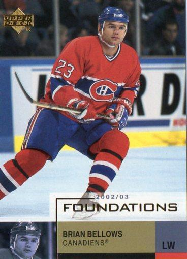 Brian Bellows - Montreal Canadiens - UD Foundations
