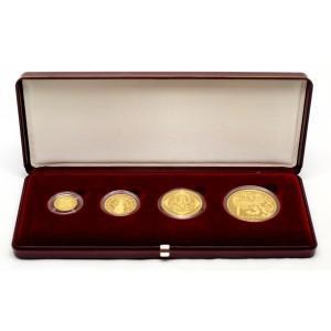 platné zlaté mince 1995 /1000,5000,2500,1000 Kč bombovní nabídka