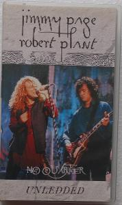 VHS JIMMY PAGE AND ROBERT PLANT - NO QUARTER UNLEDED