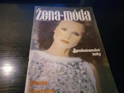 časopis - žena + moda číslo 11 - 1978