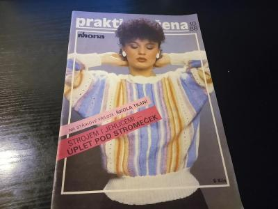 časopis - prakticka žena číslo 10 - 1988