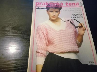 časopis - prakticka žena číslo 8 - 1988