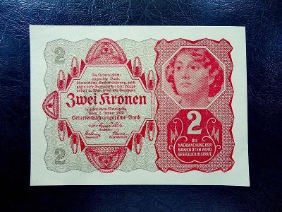 2 kronen 1922 UNC