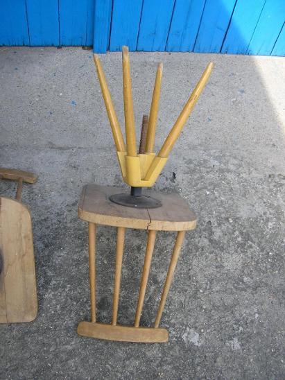 3xRetro otočné židle 70.léta - Starožitnosti