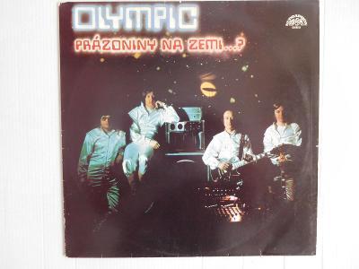 LP OLYMPIC - PRÁZDNINY NA ZEMI ...? _  SUPRAPHON 1979