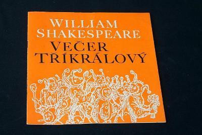 Divadlo S.K.Neumanna - Večer tříkrálový - Shakespeare   (o1)