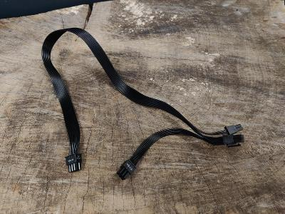 Originální 6+2PIN + 6 PIN PCI-E kabel pro zdroje EVGA BQ