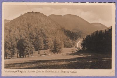 pohlednice Polsko Dittersbach Waldenburg Wałbrzych 1941