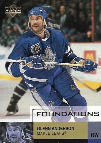 Glenn Anderson - Toronto Maple Leafs - UD Foundations