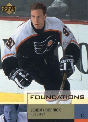 Jeremy Roenick - Philadelphia Flyers - UD Foundations