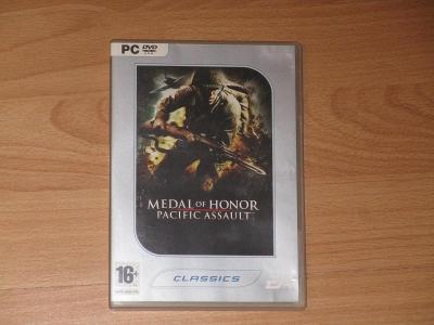 Medal of Honor: Pacific Assault PC DVD box vydání