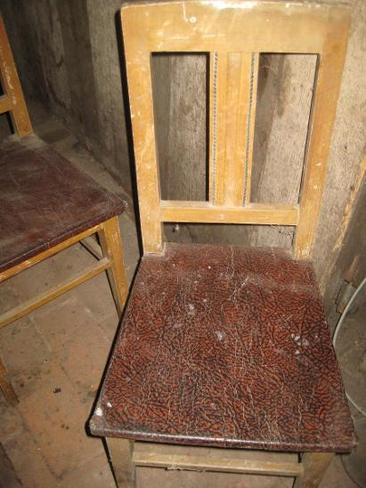 4 x židle rok cca 1910  - Starožitnosti