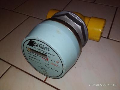Plynoměr RTP G40, turbínový plynoměr