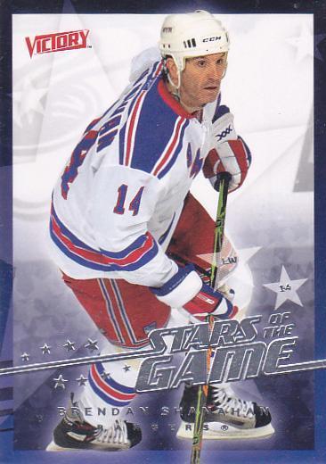 Brendan Shanahan - New York Rangers - Victory - Stars of the Game