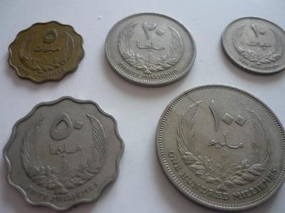 Exotické mince-5.Ks. - 100.-