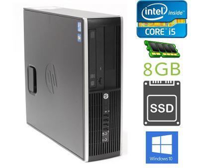 HP 8200 SFF: INTEL i5/ 8GB/ SSD 240GB/ WIN10/ záruka,faktura