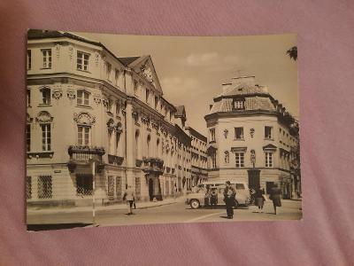 Pohlednice Varšava - Dawna Poczta Saska,prošlé poštou