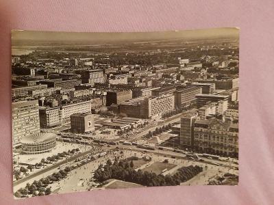 Pohlednice Varšava - Widok ogólny,prošlé poštou