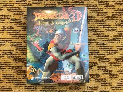 Deagon Lair 3D sealed BIG BOX CZ český manuál (2002 Dragonstone)
