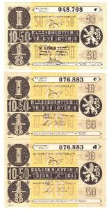 Třídní loterie   50  různé serie