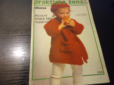 časopis - prakticka žena číslo 11 - 1988