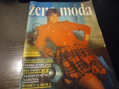 časopis - žena + moda číslo 91 - 1988