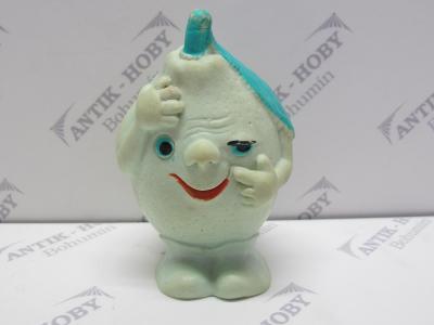 Stará gumová pískací hračka - CITRON