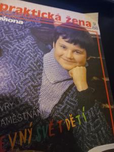 časopis - prakticka žena číslo 9 - 1988
