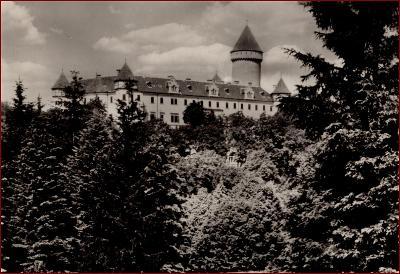Konopiště * zámek, park, krajina * Benešov * V147
