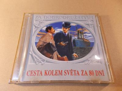 Verne Jules CESTA KOLEM SVĚTA ZA 80 DNÍ Haničinec, Preiss.. 2CD 1998