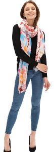 DESIGUALFOULARDD _nova rectangle maxi xxl šátek/krásný/ 220x 110cm