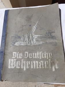 WW2 Kniha - Die Deutsche Wehrmacht 1936 !!!