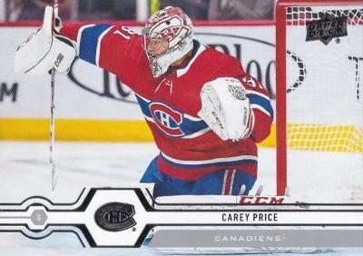 Carey Price - Montreal Canadiens - UD S2