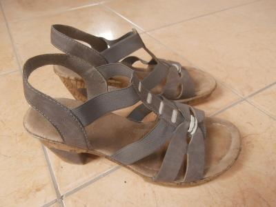 krásné, dámské sandály zn. Rieker, 38 (24,5 cm)