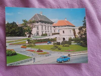 Pohlednice SLAVKOV u BRNA,neprošlé poštou