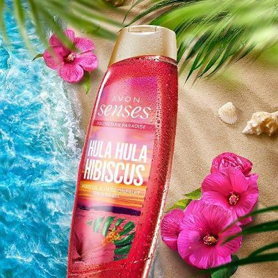 Sprchový gel Hula Hula Hibiscus 500ml Avon