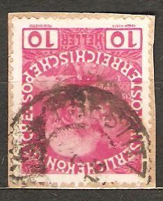 Austria 1908 Mi 144 raz. Prestitz