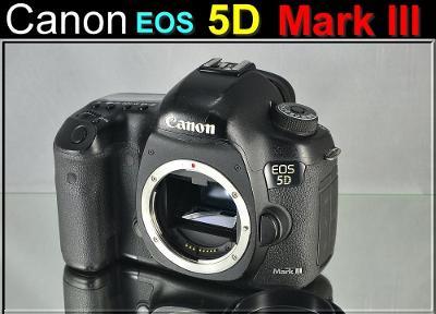 💥 Canon EOS 5D Mark III **FF. 22,3MPix*6 sn./s*Full HDV**👍59500 Exp.