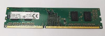 paměť DDR3 2GB 1333MHz Kingston