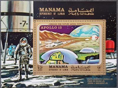 Manama kosmos, Apollo 13, 1ks aršík