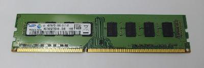 pamět DDR3 4GB 1333MHz Samsung