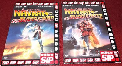 2X DVD - Návrat do budoucnosti I-II