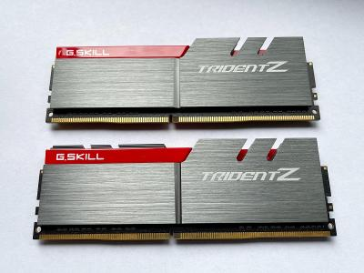 Pamět RAM 16GB 2x8GB G.Skill Trident-Z DDR4 3000MHz