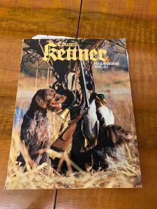 Starý německý myslivecký katalog 1986/1987