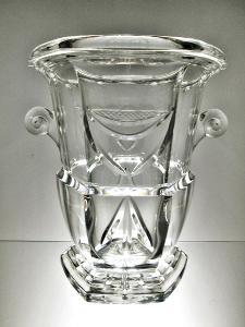 Masívní váza secese Čechy počátek 20. stol. váha 6 kg!