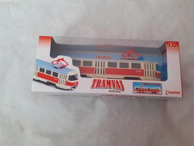 Tramvaj kovový model
